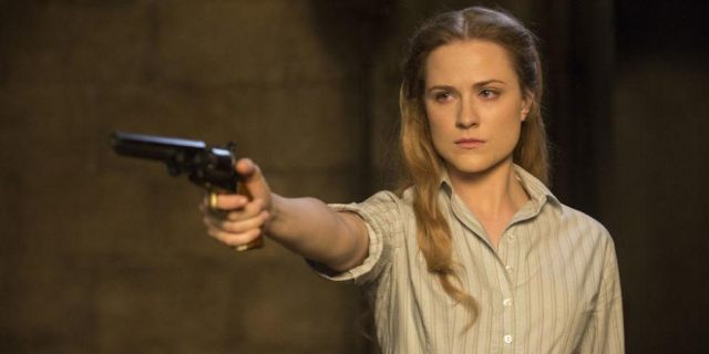 Evan Rachel Wood em Westworld --- Contrapasso
