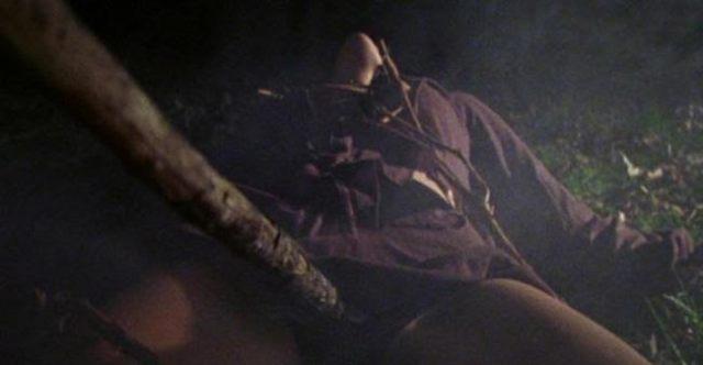 Cheryl Williams em Evil Dead, 1981.