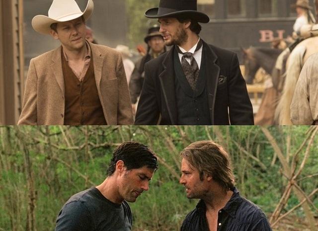 William e Logan em Westworld e Jack e Sawyer em Lost