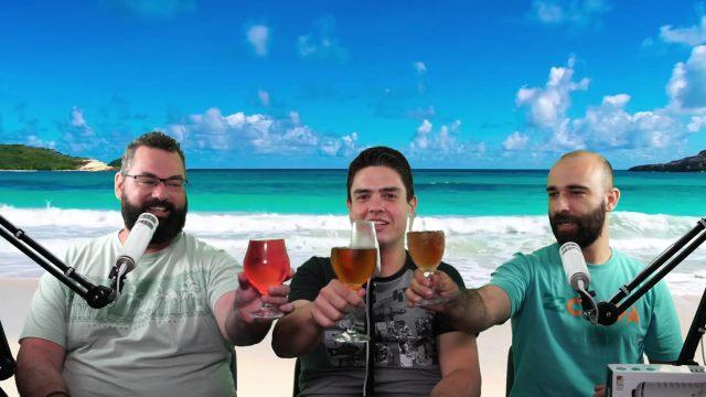 Alê Bonfá, Michel Arouca e Bruno Clemente no season finale do Derivado Cast!