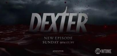 96 épisodes de Dexter : promo pour la fin de série