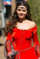 bbc-doctor-who-season-8-jenna-coleman-robin-hood-1
