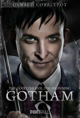 Robin Taylor es Oswald Cobblepot.