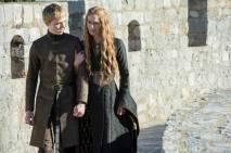 Tommen Baratheon y Cersei Lannister.