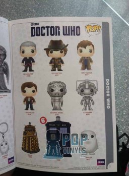 Catalogo Funko Pop Doctor Who.