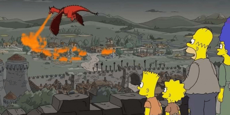 Game of Thrones ou Os Simpsons?