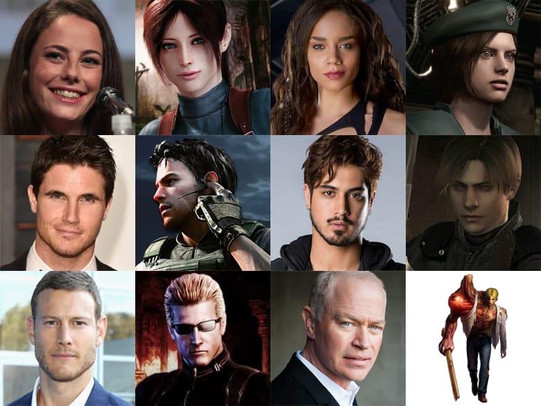 Resident Evil Reboot Da Franquia Ja Tem Seu Elenco Confirmado Series Em Cena