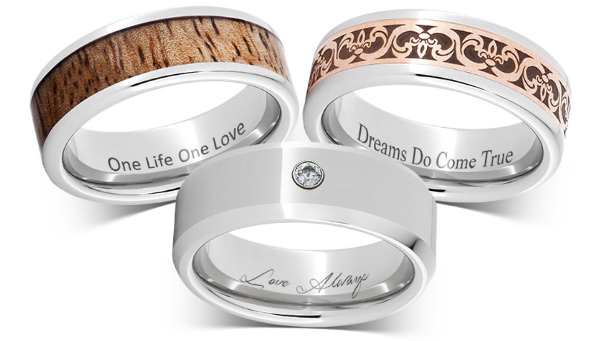 Rings With Initials Engraving Gallery Of Photo Engraved