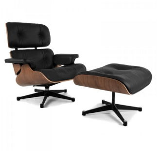A modern replica of the lounge chair sold in three colours at www.chair.furniture
