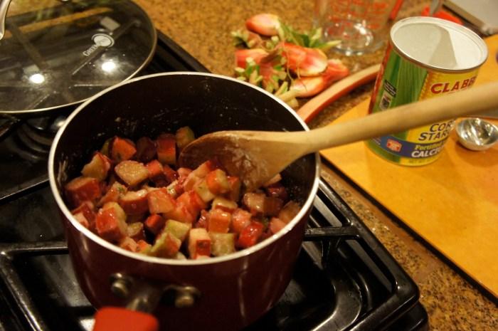 Rhubarb Thyme Hand Pies
