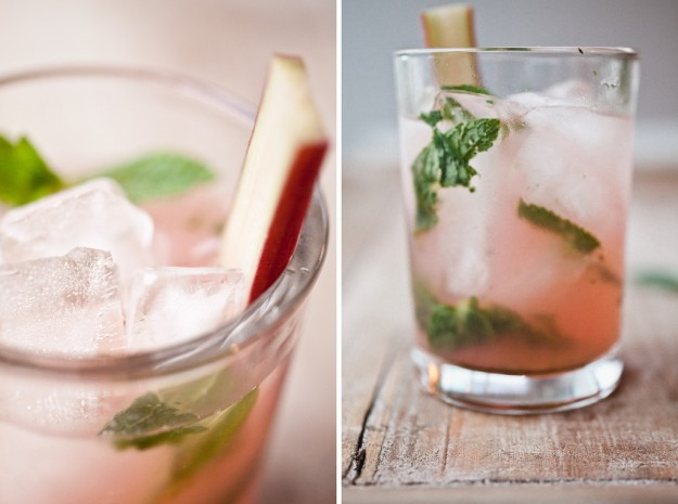 Rhubarb Mojitos: Friday Finds by Serious Crust