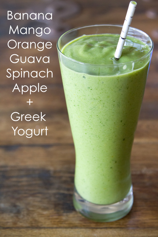 Green Machine Smoothie from What's Gaby Cooking // Friday Finds on Serious Crust, by Annie Fassler