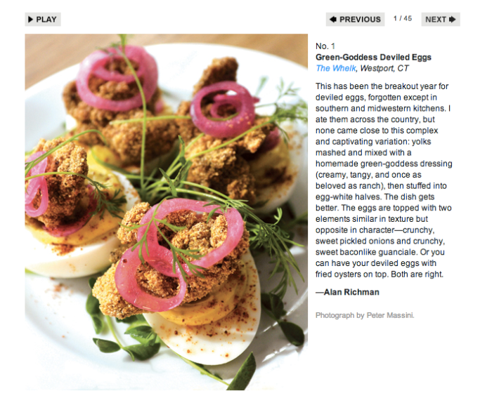 GQ's 50 best things to eat & drink right now on Friday Finds // Serious Crust by Annie Fassler