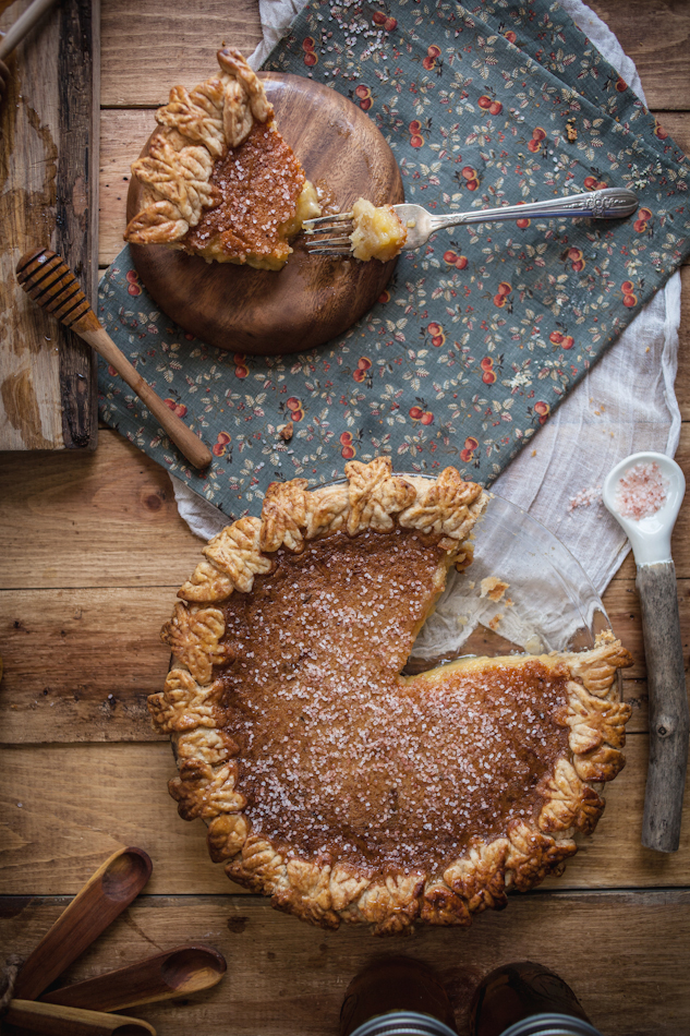 Rose and Honey Pie from Adventures in Cooking on Weekend Finds // Serious Crust by Annie Fassler