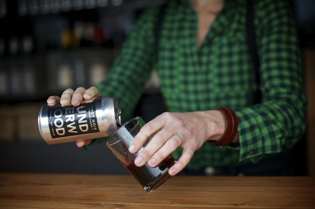 Underwood Wine in a can // Serious Crust by Annie Fassler