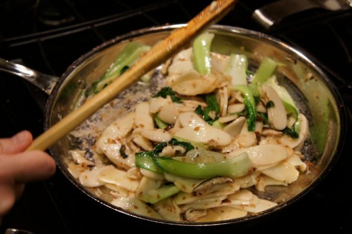 Shanghai Stir-Fried Rice Cakes // Serious Crust by Annie Fassler