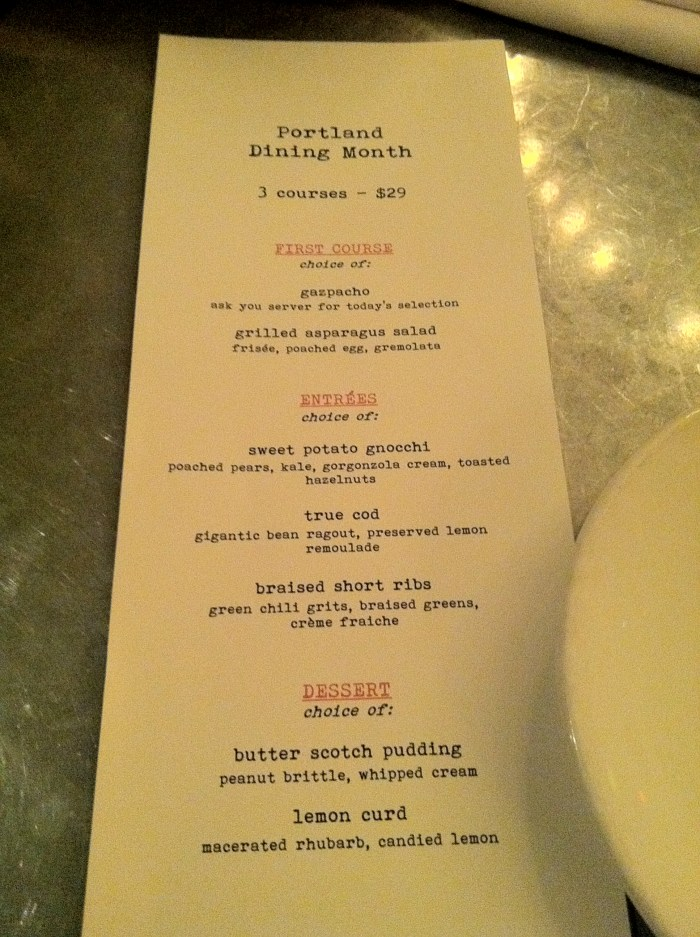 Dinner at Paragon for Portland Dining Month // Serious Crust by Annie Fassler