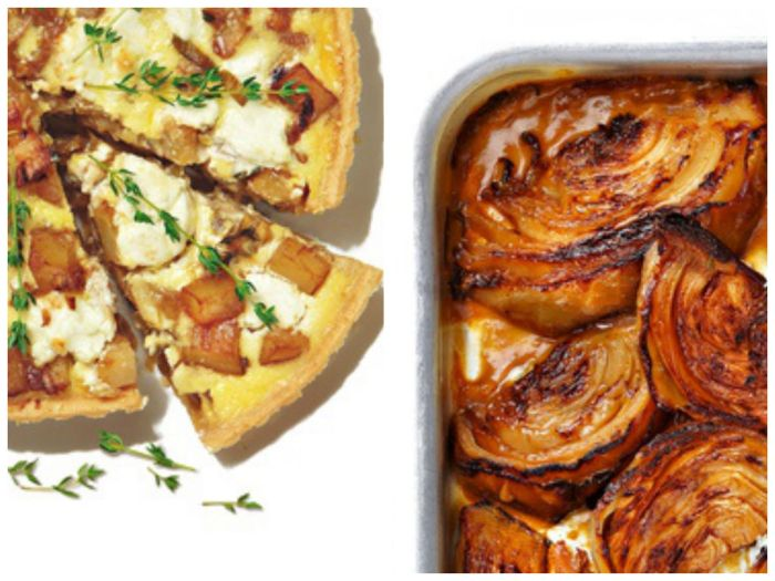Ottolenghi's Potato Miso Tart and Braised Cabbage // Weekend Finds on Serious Crust