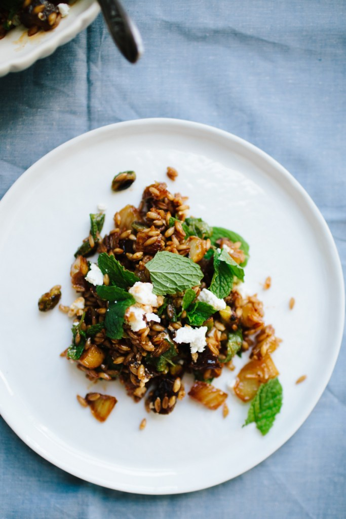 Caramelized Fennel and Farro Salad Recipe from Not Without Salt | Serious Crust by Annie Fassler