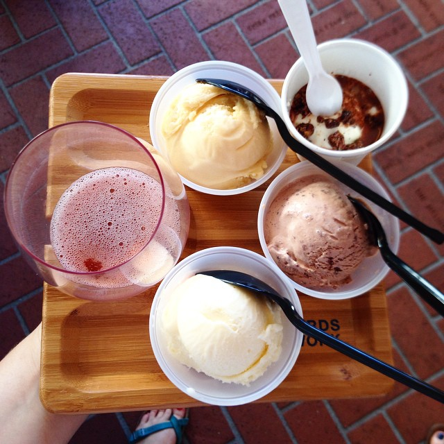 Ice cream & Wine | Feast PDX | Serious Crust