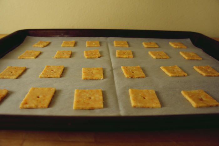 Cheese Crackers | Serious Crust