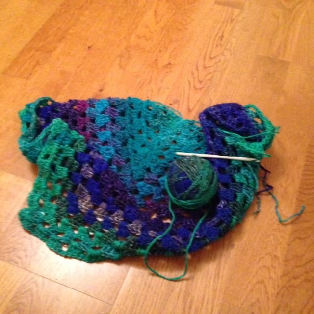 My new shawl