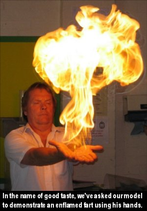 We could not, however, restrain him from saying, 'YOGA FLAME!'