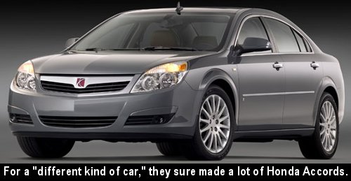 Their junked fleet will probably biodegrade slower than other cars because of their plastic panel sides.