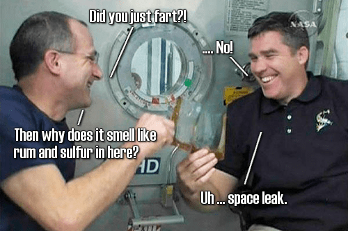 Space smells like Bender's shiny, metal ass