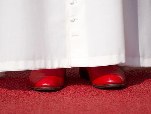 Pope Benedict XVI is only the second pope in history to hand over his ruby loafers without being crushed by a house first.