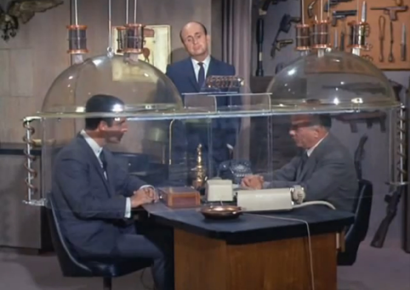 The CIA may have given up on secrecy after never getting the Cone of Silence to work properly.