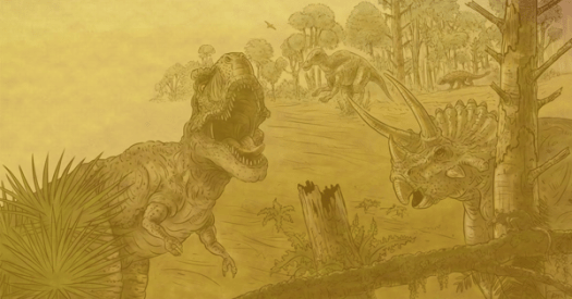 From what we keep finding in amber, this is our visible approximation of the entire Cretaceous period.