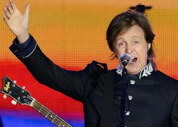 This animatronic creature has filled in for McCartney at his canceled shows.