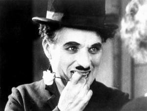 You know how we know that Charlie Chaplin was secretly evil? He penciled in his Hitler 'stache with his left hand.