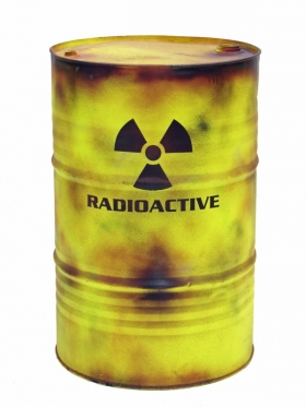 It turns out that organic products don't make radioactive waste safer to consume or keep in the home.