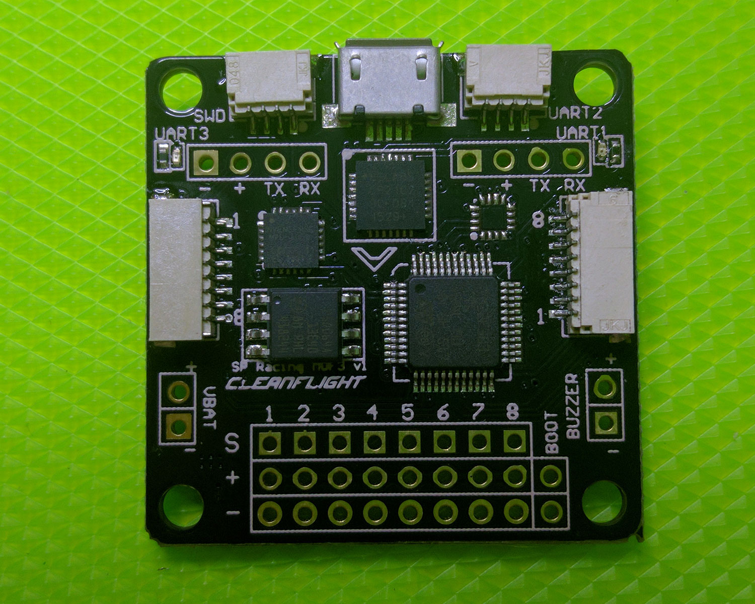 hight resolution of spracingf3 pcb top