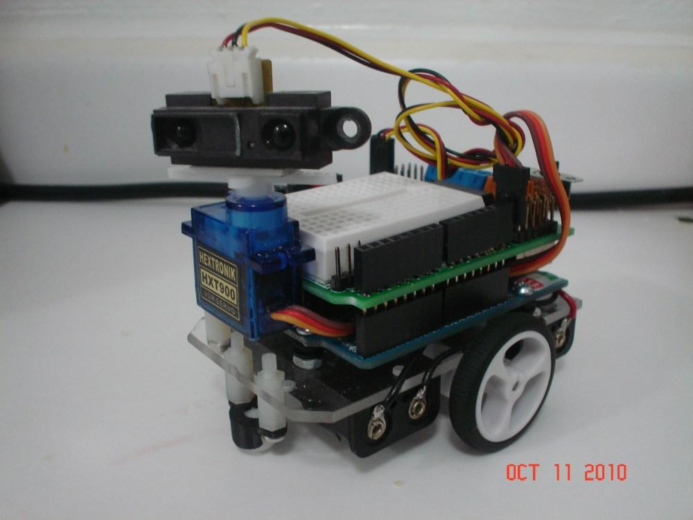 Compact - a Small Arduino Robot (3/6)