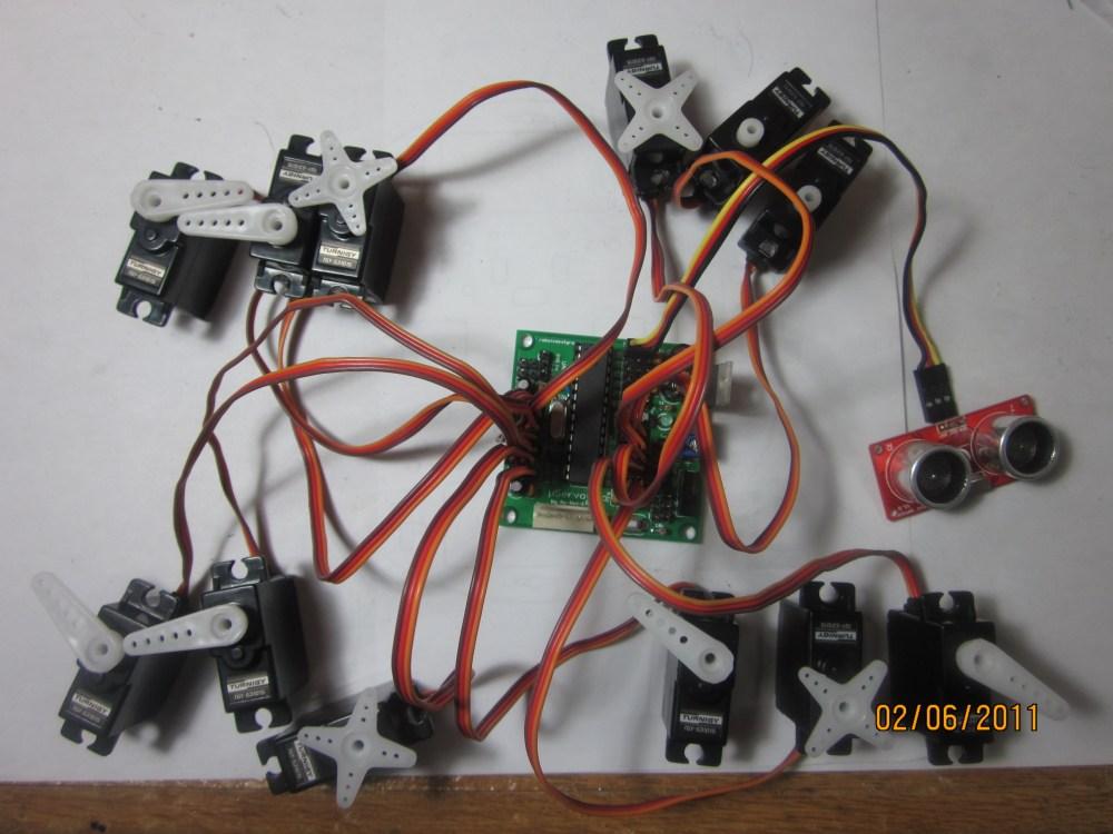 uServotino robot controller (6/6)