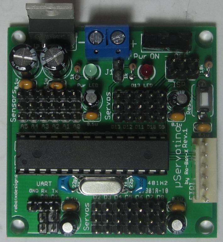 uServotino robot controller (5/6)