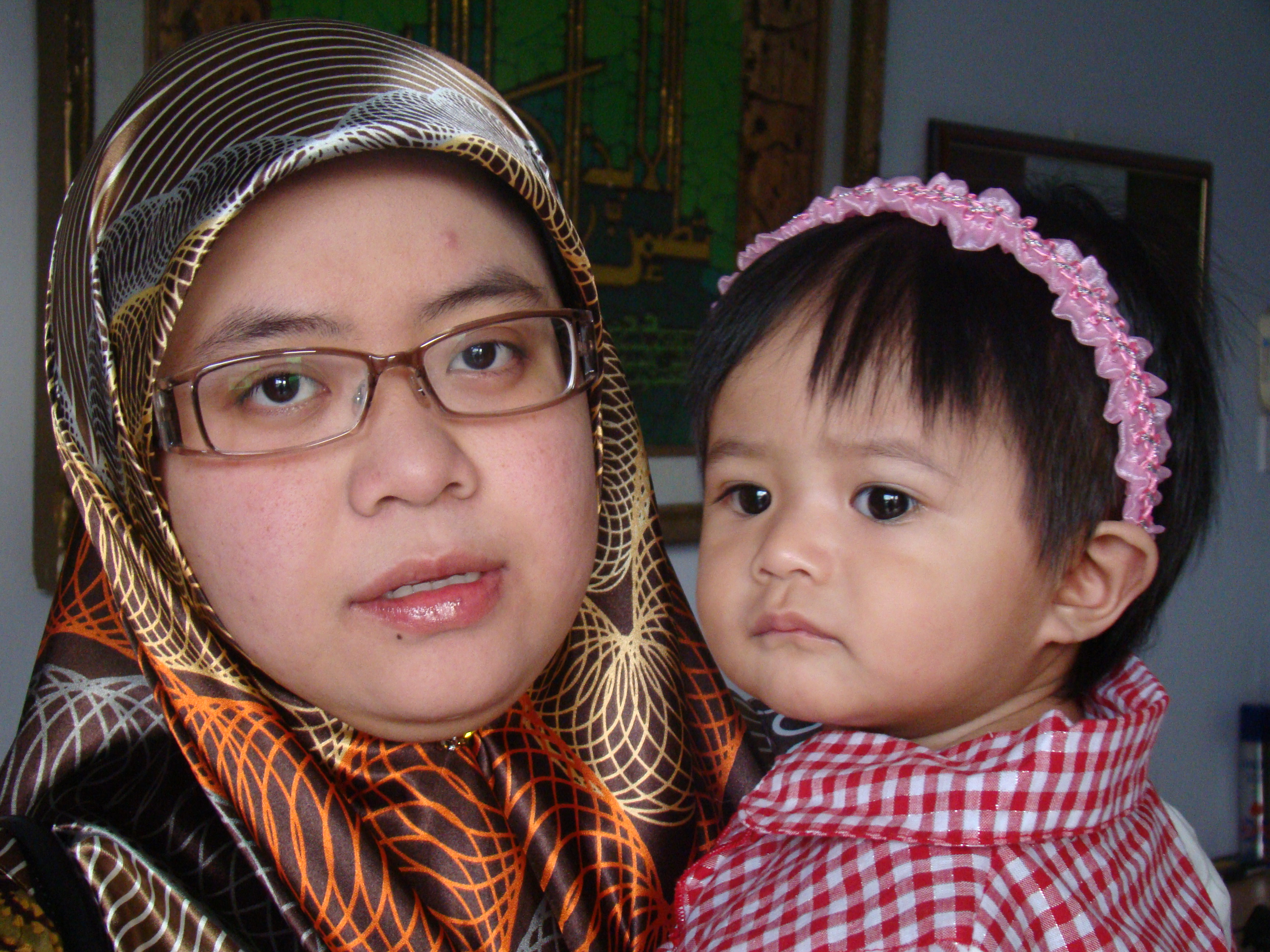 With Umi, 6.30 am today, 10th. June, 2009