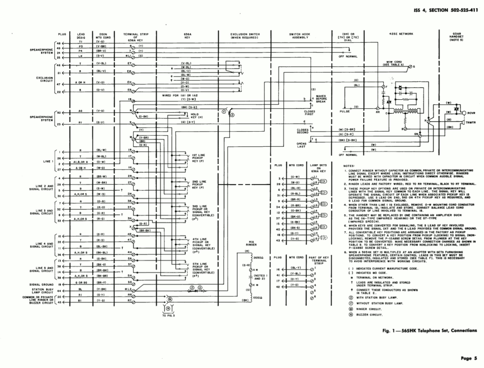 medium resolution of  565 internal wiring block diagram