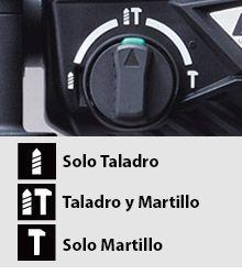 Martillo Combinado DH24PH 3 modos de uso