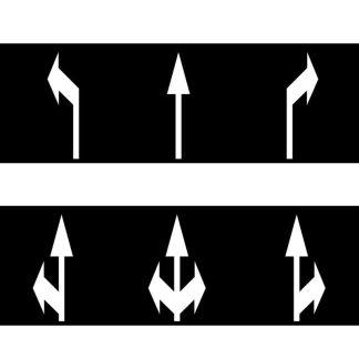 Alfombras Flechas de Dirección