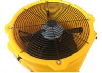 Ventilador axial DFX 20. El ventilador puede ajustarse a 8 posiciones diferentes.
