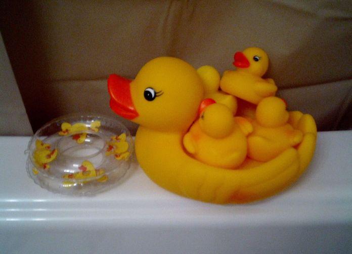 juguetes para el baño