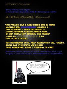 Fiesta de cumpleaños de Star Wars