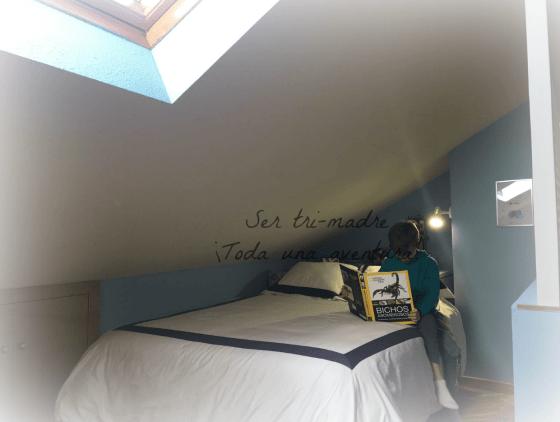 cama grande para una habitación juvenil