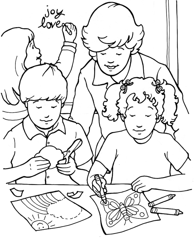 Pin Heart Full Of Joy Coloring Page on Pinterest