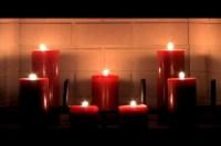 Candles lit Fireplace | Nate Bernard | SermonSpice