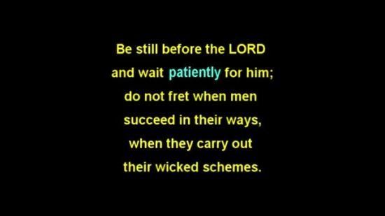 Psalm 37111  SonLight Video  SermonSpice